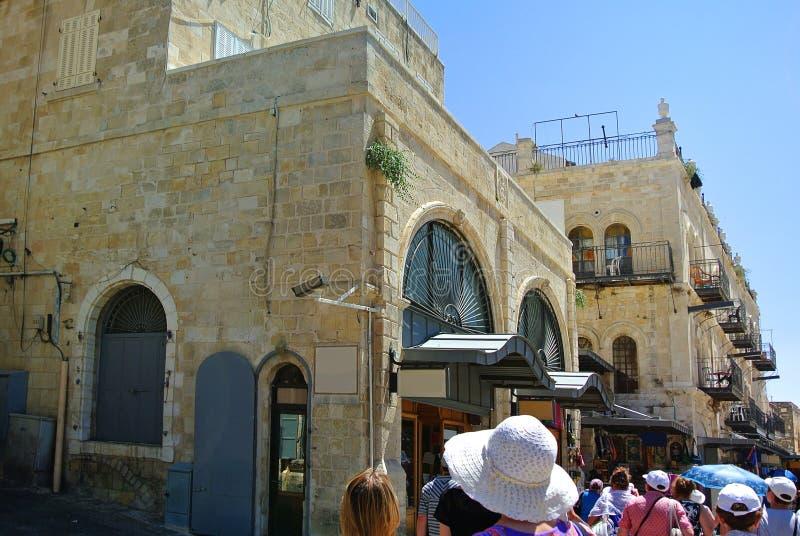 jérusalem l'israel Le berceau de trois religions photographie stock