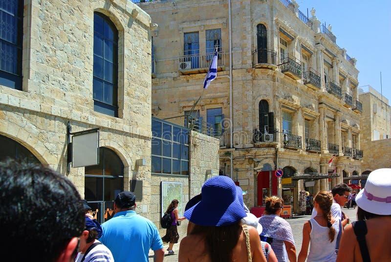 jérusalem l'israel Le berceau de trois religions images stock
