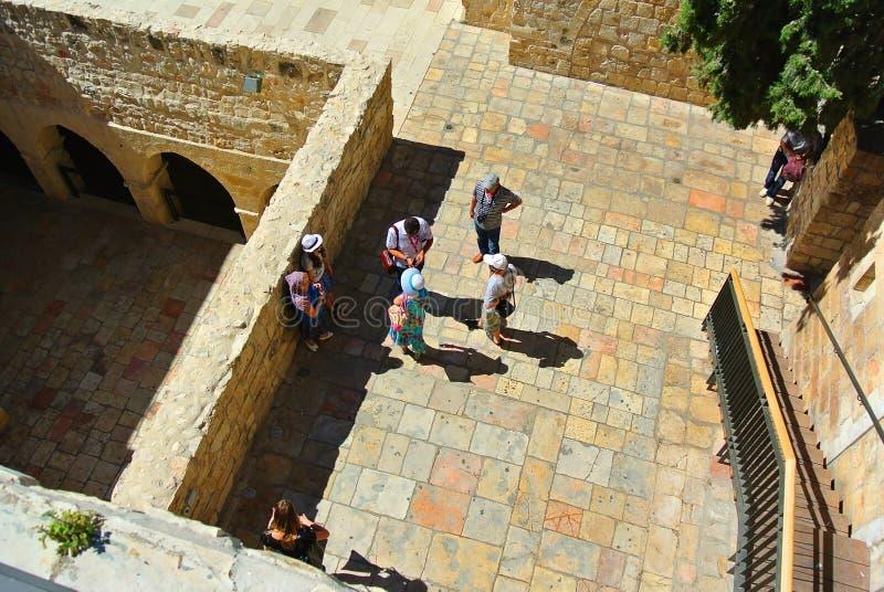 jérusalem l'israel Le berceau de trois religions image stock