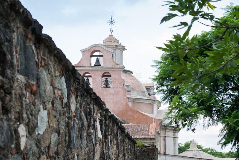Jésuites architecture, patrimoine mondial, église, musée Alta Gracia images libres de droits