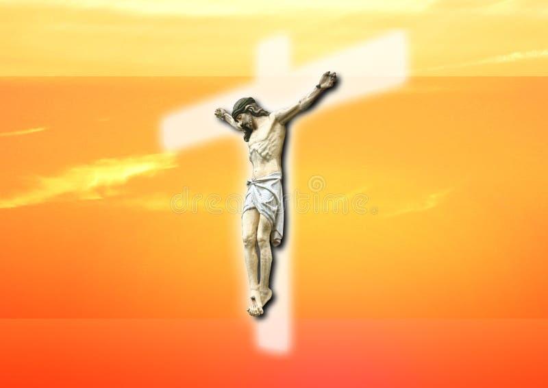 Jésus illustration stock