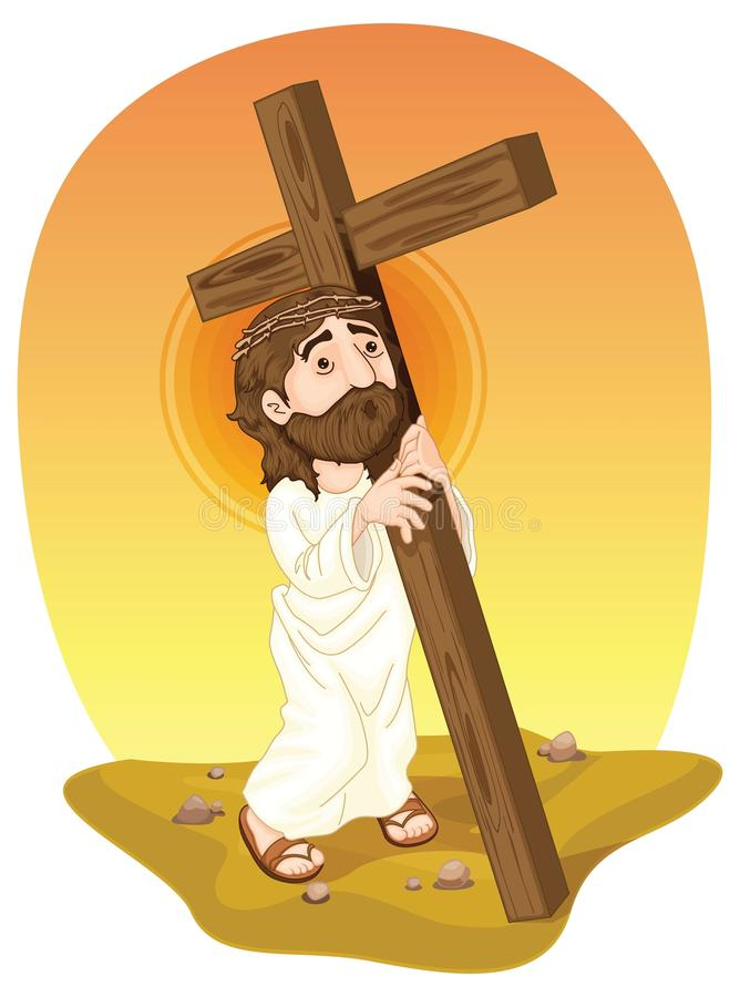 Jésus illustration stock