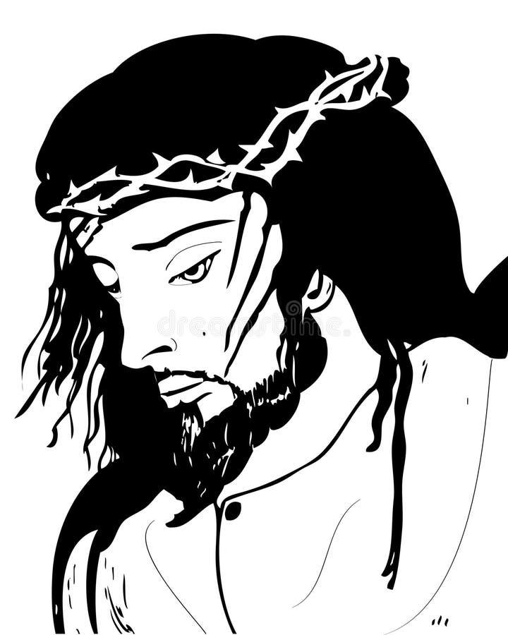 Jésus-Christ illustration de vecteur
