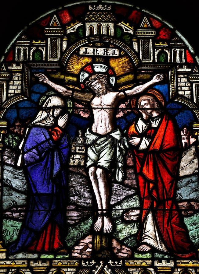 Jésus a crucifié photos stock
