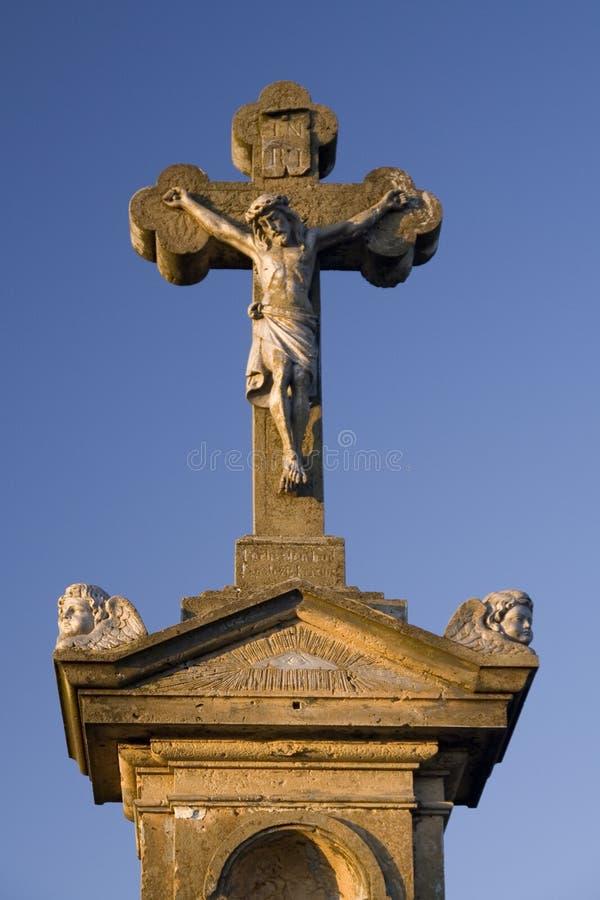 Jésus (crucifix) images stock