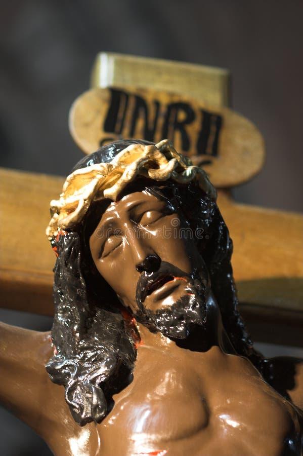 Download Jésus dans la croix photo stock. Image du jésuite, bénédiction - 732070