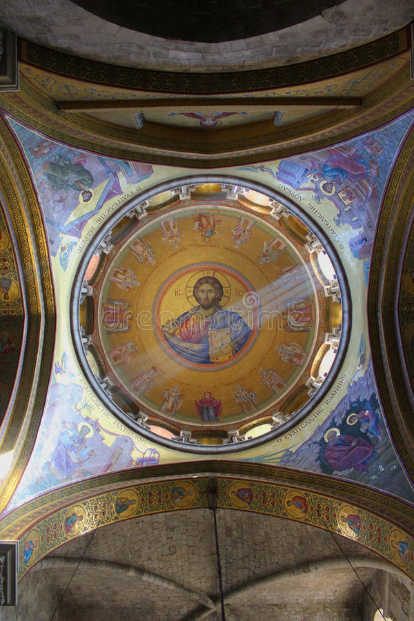 Jésus, la lumière du monde photo stock