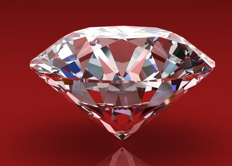 Jóia do diamante ilustração royalty free