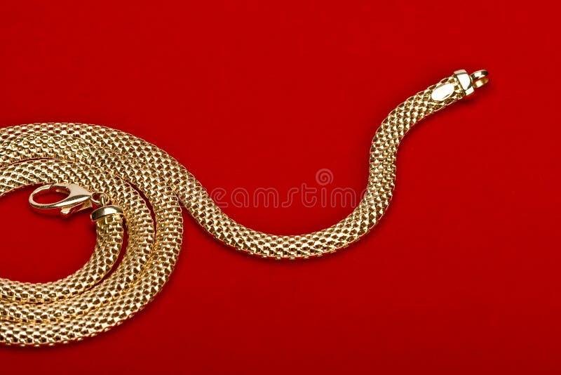 Jóia do ouro imagem de stock