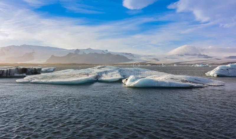 Jökulsárlón glacier lagoon, Iceland royalty free stock image