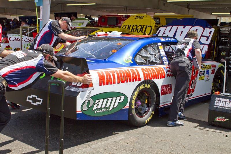 Júnior de Dale Earnhardt do excitador do copo de NASCAR Sprint foto de stock