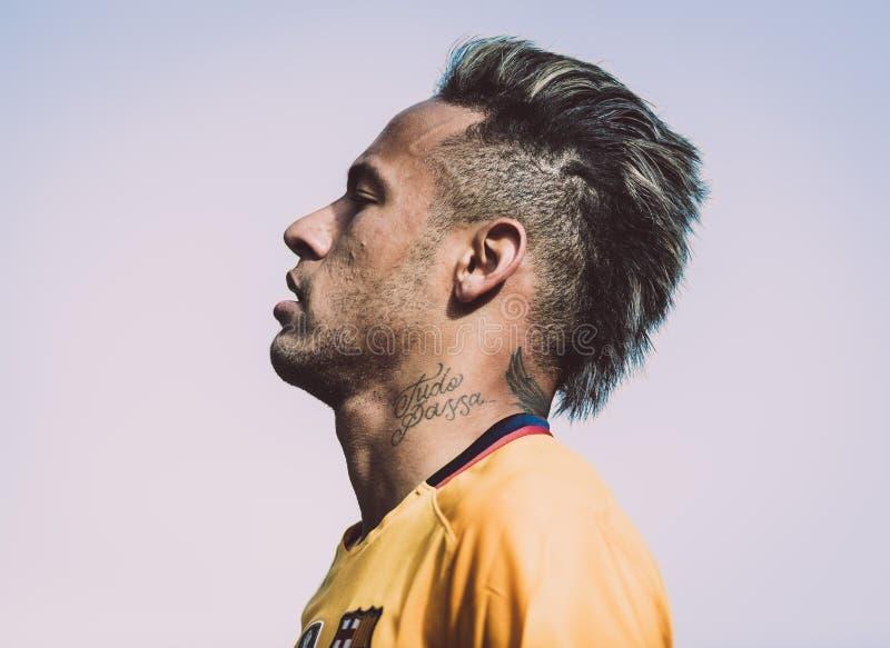 JÚNIOR de Neymar imagens de stock