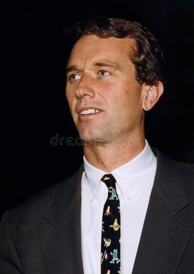 Júnior de Robert F. Kennedy. fotografia de stock