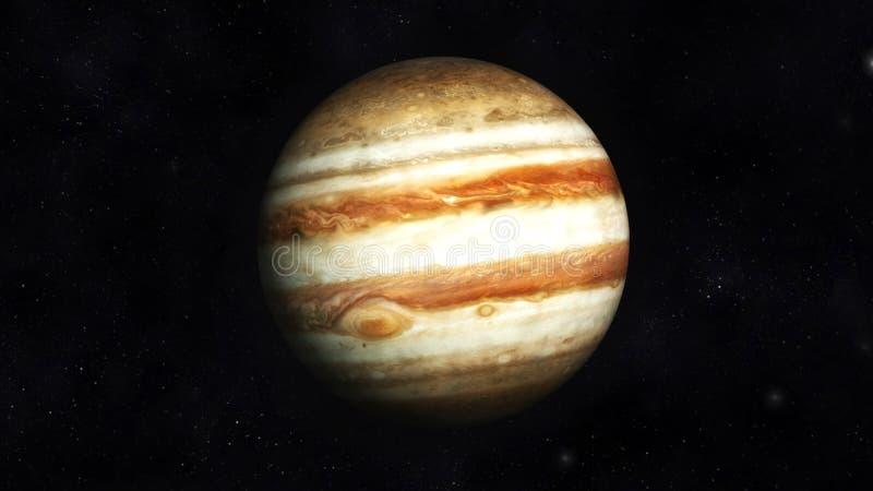 Júpiter ilustração royalty free