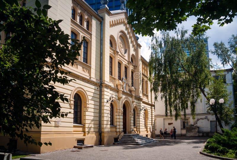 Jüdische Kommune Warschaus, Nozyk-Synagoge in Polen lizenzfreies stockfoto