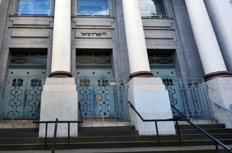 Jüdische Synagoge - Melbourne stockfotos