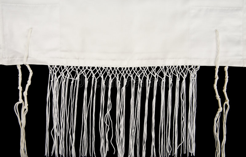 Jüdischer Gebet-Schal stockfotos
