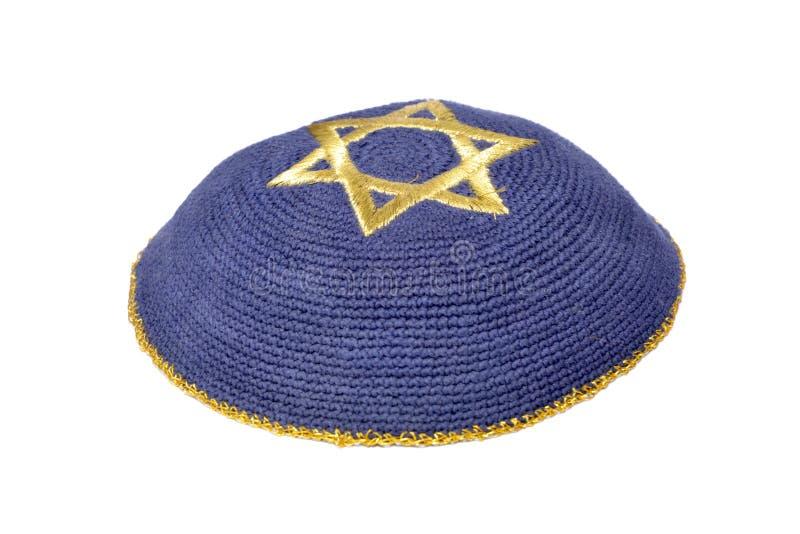 Jüdischer Yarmulke stockfotos