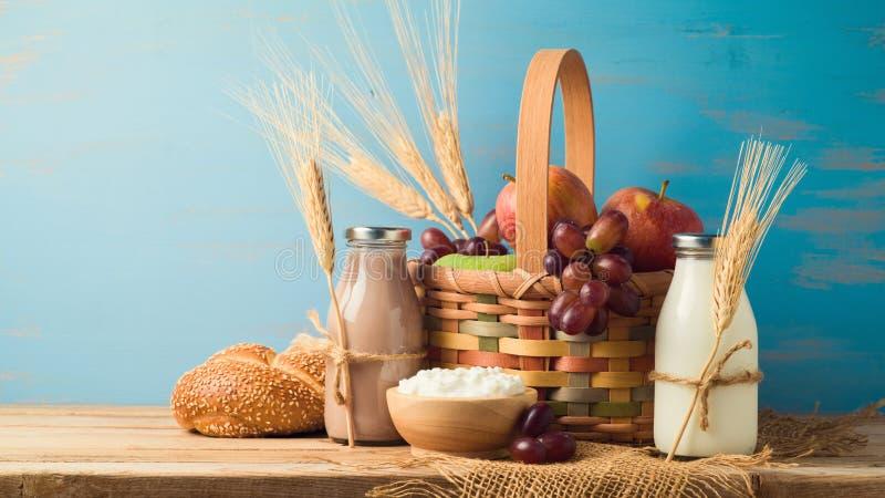 jüdisches Feiertag Shavuot-Konzept lizenzfreie stockfotos