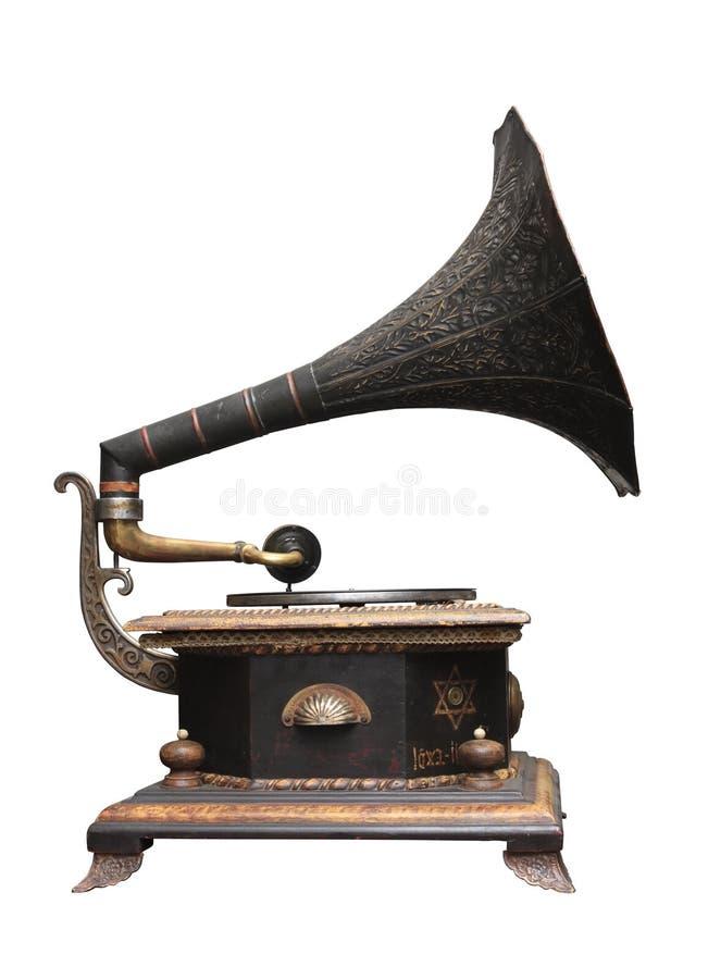 Jüdisches Grammophon stockbild