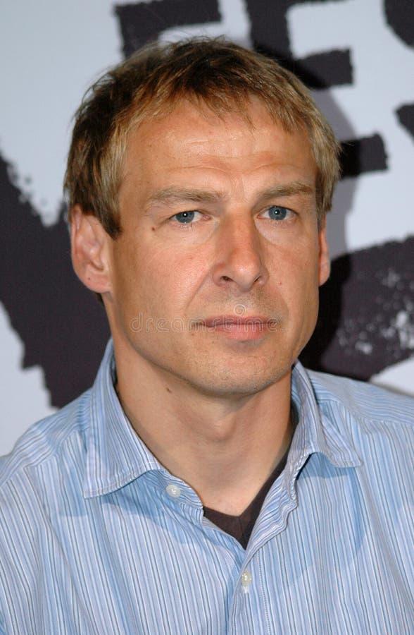 Jürgen Klinsmann stockfoto