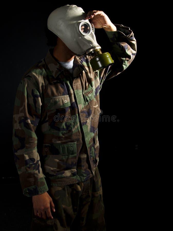 jądrowy apocalypse żołnierz obrazy royalty free