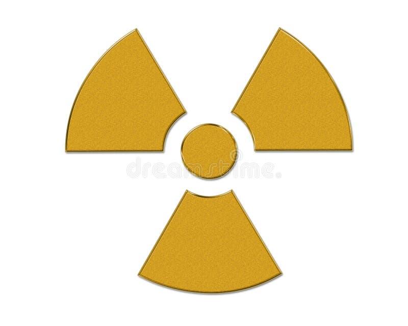 jądrowy symbol ilustracji