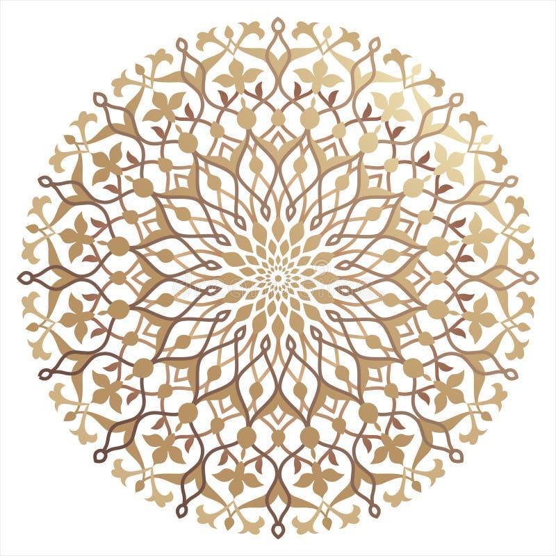 język arabski wzór royalty ilustracja
