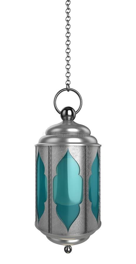 Języka arabskiego Ramadan lampion ilustracji