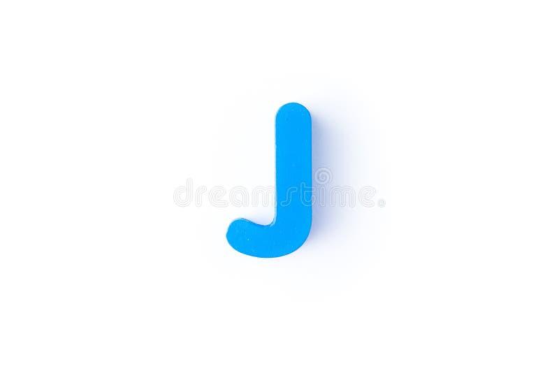 J信件用英语 库存照片