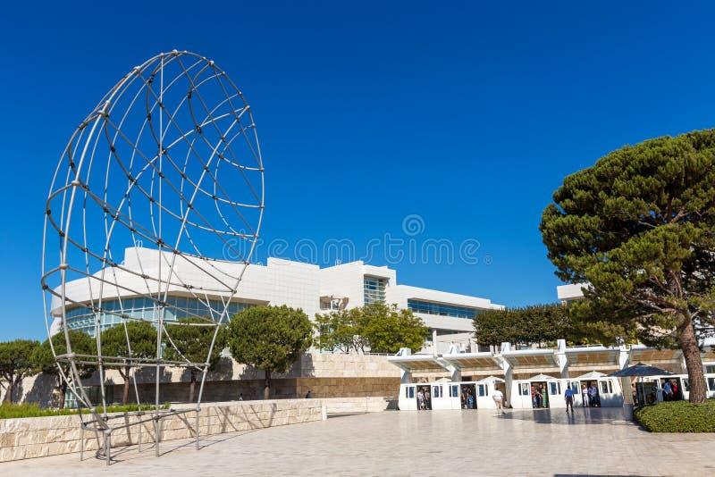 J.保罗Getty博物馆, J.保罗Getty信任的程序,是一座美术馆在加利福尼亚 保罗格蒂博物馆在洛杉矶 图库摄影