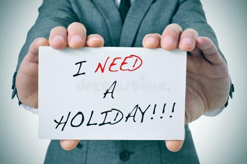 J'ai besoin des vacances photos libres de droits