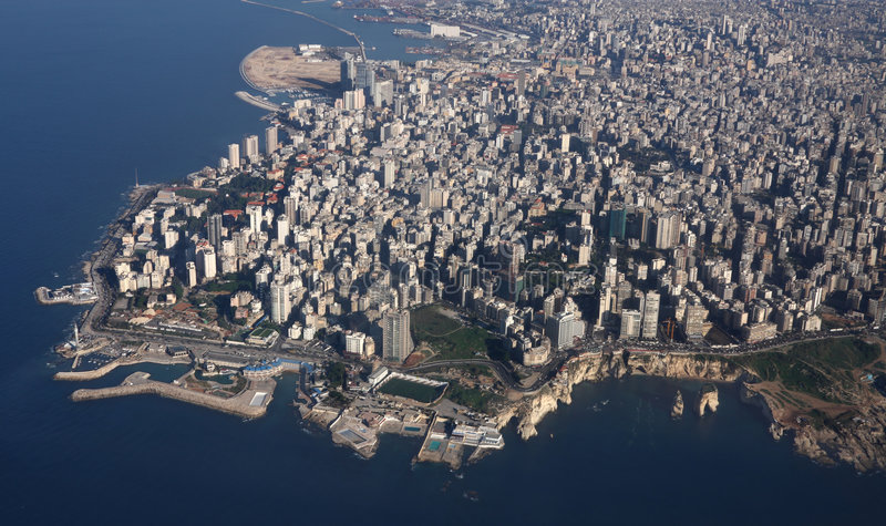J'aime Beyrouth photo stock