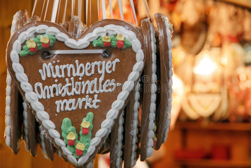 J'aime des marchés de Noël photos libres de droits