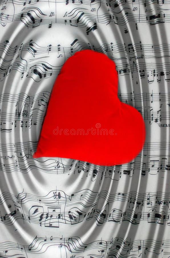 J'aime la musique ! image libre de droits