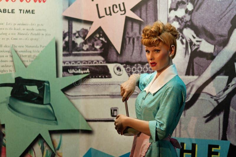 J'aime Lucy images libres de droits