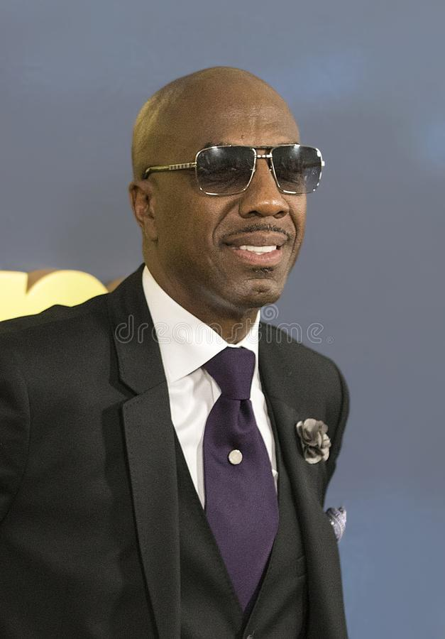 J.B. Smoove. Comedic actor J.B. Smoove arrives for the NYC premiere of the 9th season of HBO`s hit comedy, `Curb Your Enthusiasm.` Larry David plays a royalty free stock image
