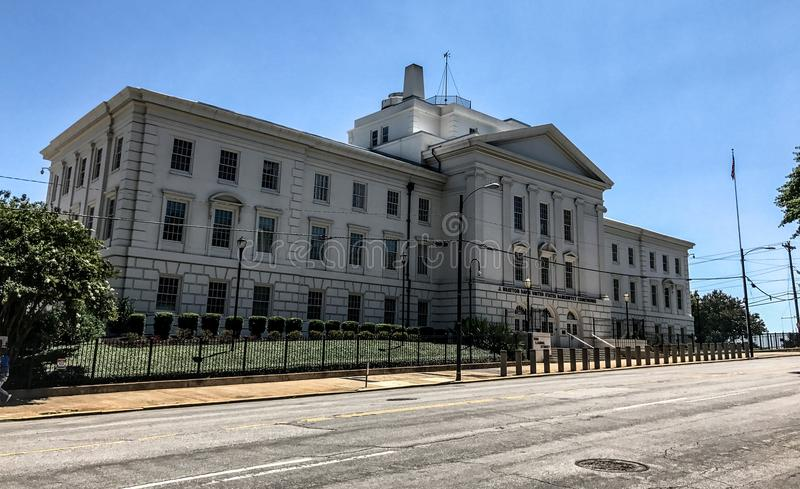 J Bratton Davis United States Bankruptcy Courthouse auf Laurel St in Kolumbien, Sc stockfotos