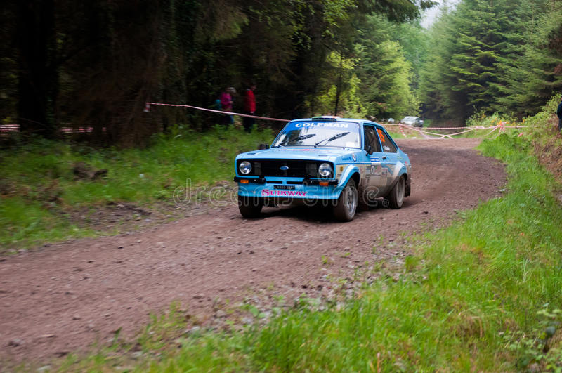 Download J. Coleman Driving Ford Escort Editorial Image - Image: 25562570
