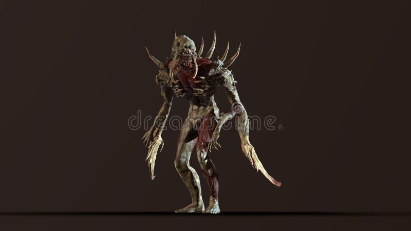J?drowy apokalipsa mutant 3d odp?aca si? obraz stock