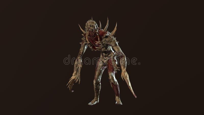 J?drowy apokalipsa mutant 3d odp?aca si? fotografia royalty free
