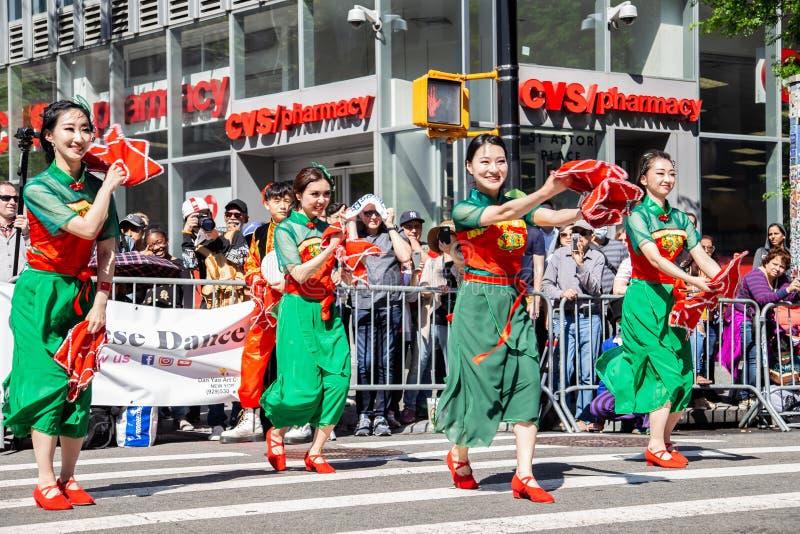 13. j?hrliche New- York Citytanz-Parade und Festival 2019 lizenzfreie stockbilder