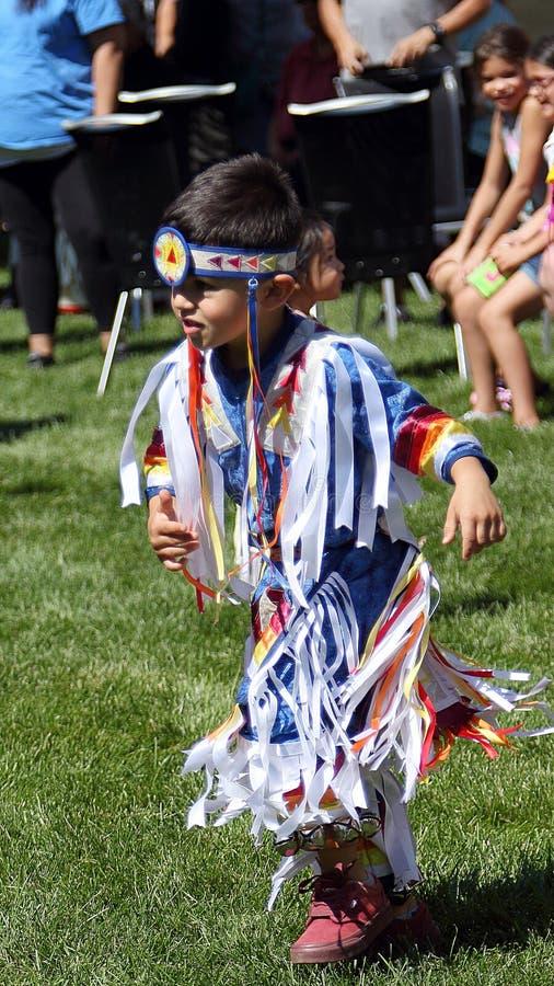 29. j?hrlicher Freundschaft Powwow und indianische kulturelle Feier lizenzfreies stockbild