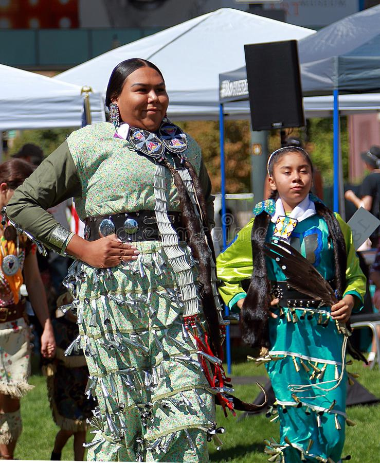 29. j?hrlicher Freundschaft Powwow und indianische kulturelle Feier stockfotos