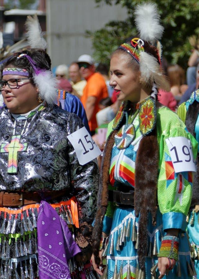 29. j?hrlicher Freundschaft Powwow und indianische kulturelle Feier stockfoto