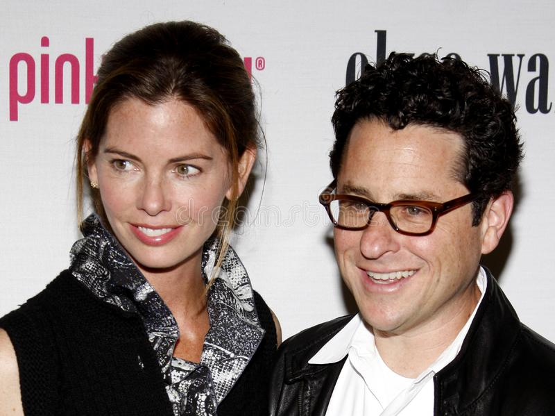 J.J. Abrams. At the 5th Annual Pink Party held at the La Cachette Bistro in Santa Monica, USA on September 12, 2009 royalty free stock photo