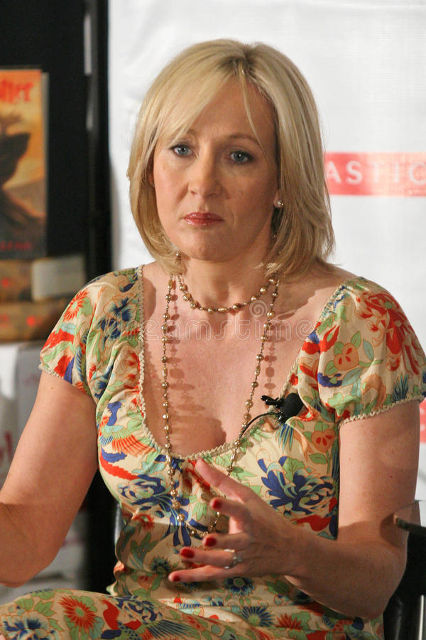 Download J K Rowling, editorial stock photo. Image of rowling - 24304853