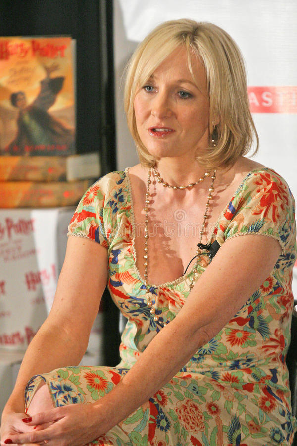 J K Rowling, J.K. Rowling, J.K. Rowling, JK Rowling images libres de droits