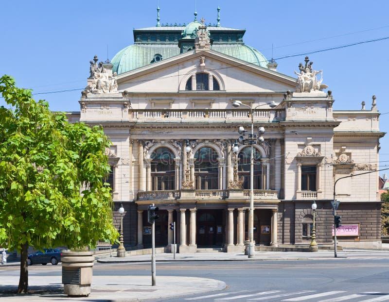 J K Tyl-Theater, Plzen, Tschechische Republik lizenzfreies stockfoto