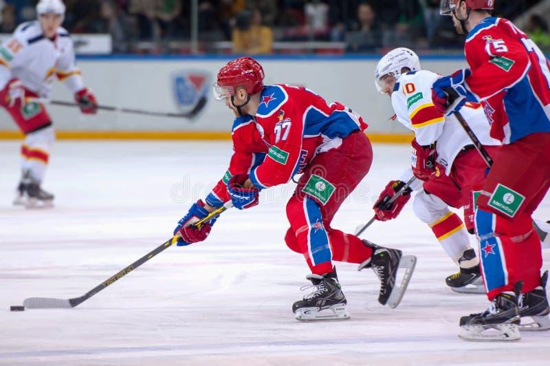 J. Mursak (39) and P. Virtanen (26) stock photo